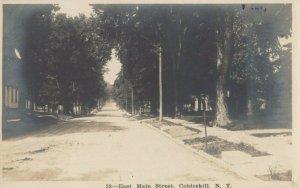 RP; COBLESKILL , New York , 1900-10s ; East Main Street