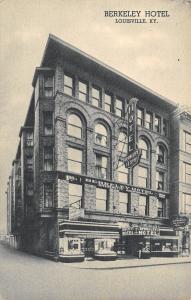 Louisville Kentucky~Berkeley Hotel~Candies Display Window~Rooms $1.50~1940s B&W