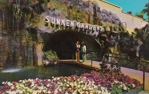 Florida St Petersburg Beautiful Sunken Gardens Entrance