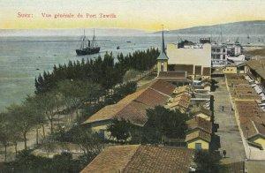 SUEZ , Egypt , 1900-10s ; Port Tewfik