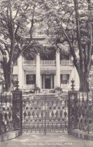 Mississippi Natchez staton Hall Albertype
