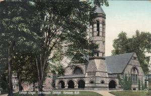 HANOVER, New Hampshire, 1900-10s; College Chapel,  Dartsmouth College