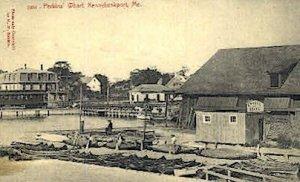 Perkins' Wharf in Kennebunkport, Maine