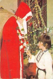 B3399 Fetes Noel Santa Claus in Romania 1981  front/back scan