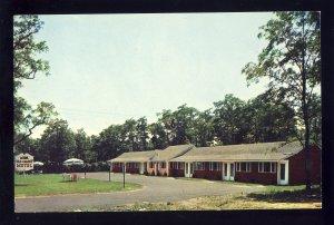 East Sandwich, Massachusetts/MA Postcard, Old Colony Motel, Cape Cod, 1960!
