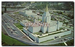 Old Postcard Oakland Temple and the Interstate Center Church of Jesus Christ ...