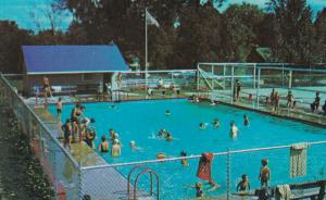 GUELPH , Ontario , 1950-60s ; Bible Conference Grounds Swimming Pool