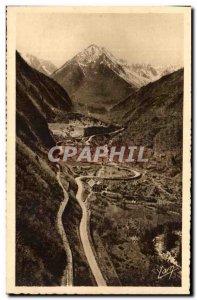 Pyrenees Postcard Old Route Pierrefitte has Cauterets Colimacon and Peguere