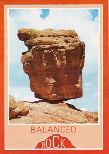 Balanced Rock Garden Of The Gods Colorado Springs Colorado