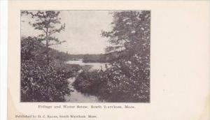 Massachusetts Wareham Foliage &  Water Scene