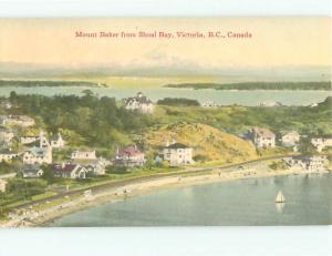 Vintage Post Card Mt Baker Shoal Bay Victoria B C  Nova Scotia  Canada  # 3894