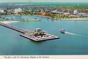 Florida St Petersburg The Pier With Skyline In The Distance 1980