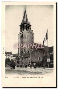 Old Postcard Paris Saint Germain des Pres
