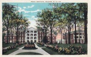 RALEIGH, North Canarolina, 1910-1930s; Peace Institute