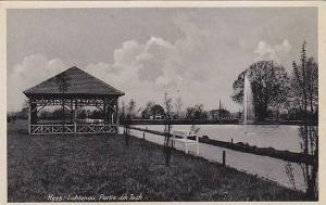 Hess.-Lichtenau , Partie am teich , Germany , 1910s