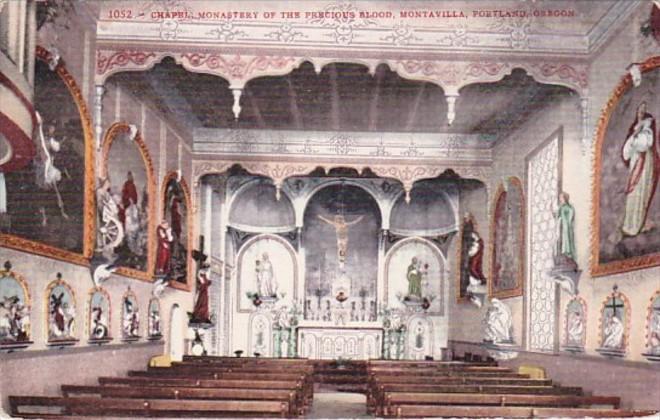 Oregon Portland Montaville Chapel Monastery Of The Precious Blood