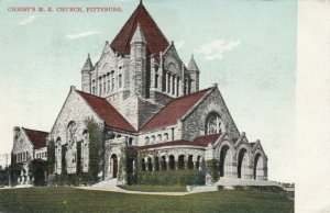 PITTSBURG , Pennsylvania , 1900-10s ; Christ M.E. Church