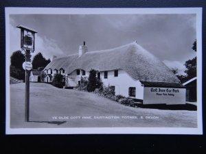 Devon DARTINGTON TOTNES Ye Old Cott Inn - Old RP Postcard by Nicholas Horne
