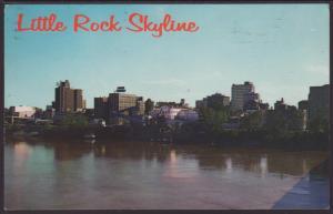 Skyline,Little Rock,AR Postcard BIN