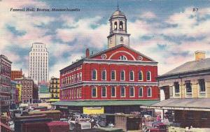 Faneuil Hall, Boston, Massachusetts, 30-40s