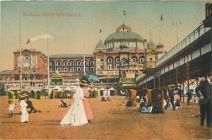 Kurhaus SCHEVENINGEN Netherland vintage animated postcard