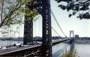 NY - New York City. George Washington Bridge