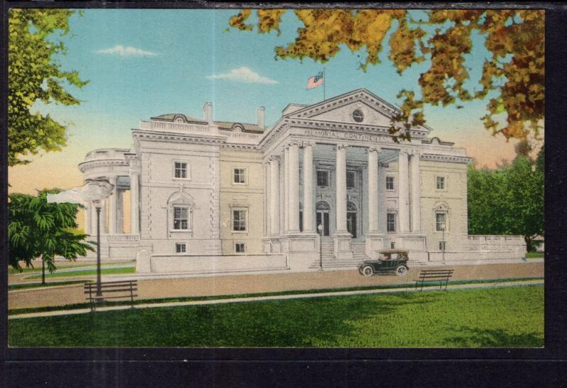 Memorial Continental Hall,Washington,DC BIN