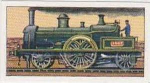 Glengettie Tea Vintage Trade Card History Of The Railways No 17 The President