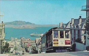 California San Francisco Cable Car Hyde Street