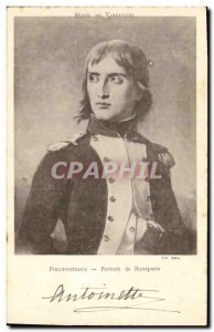 Old Postcard Napoleon 1st Museum of Versailles Philippoteaux Portrait of Bona...