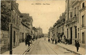 CPA TROYES - Rue Thiers (72012)