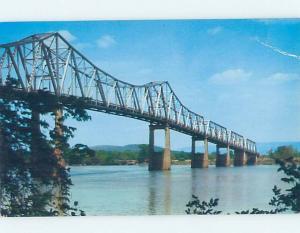Pre-1980 BRIDGE SCENE Huntsville Alabama AL H8451