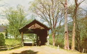 VT - Waitsfield. Old Covered Bridge