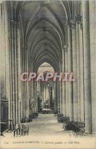 Carte Postale 134 Old cathedral of Amiens Left Side