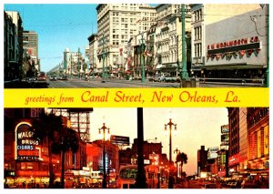 Louisiana New Orleans    Canal Street