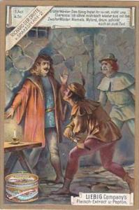 Liebig Vintage Trade Card S603 Shakespeares Richard III 1899 No 2 Act 1 Scene 4