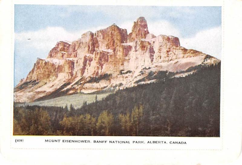 Mount Eisenhower - Alberta, Canada