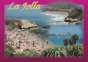 California La Jolla Coastal Scene