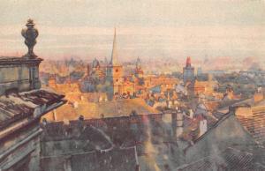 Czech R. Vue du palais Oswald-Thun (Mala Strana)