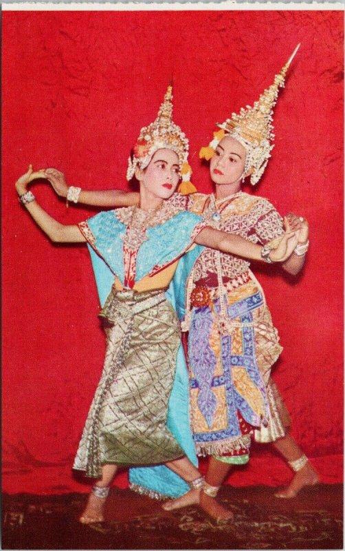 Bangkok Thailand Thai Classical Dance 126 Soma Nimit Unused Postcard G52