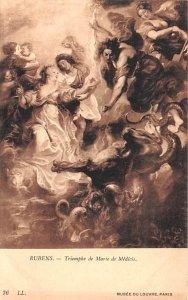Triomphe de Marie de Medicis - Rubens Musee du Louvre, Paris Artist Unused