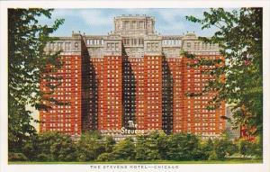 Stevens Hotel Chicago Illinois