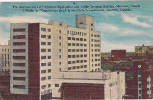 MONTREAL, Quebec, Canada, PU-1959; International Civil Aviation Organization ...