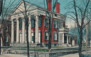 D. A. R. Home DAR Daughters of American Revolution Rochester New York pm 1911 DB