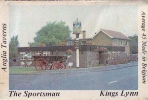 The Sportsman Kings Lynn Norfolk Pub Matchbox Label
