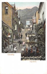 uk19760  high street clovelly uk