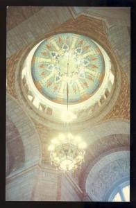 Lincoln, Nebraska/NE Postcard, Chandelier In State Capitol
