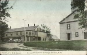 Sandown NH Store & Telephone Exchange c1910 Postcard