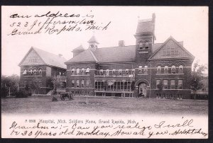 Grand Rapids MI - Soldier's Home Hospital - 1906