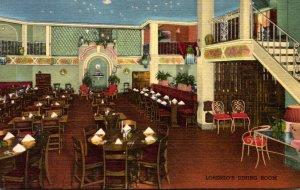 New York Rochester Casa Lorenzo Dining Room Curteich